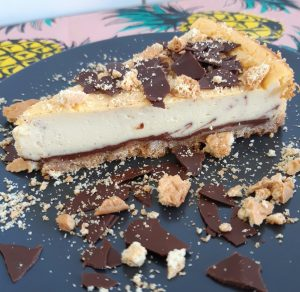 chocolade vanille cheesecake